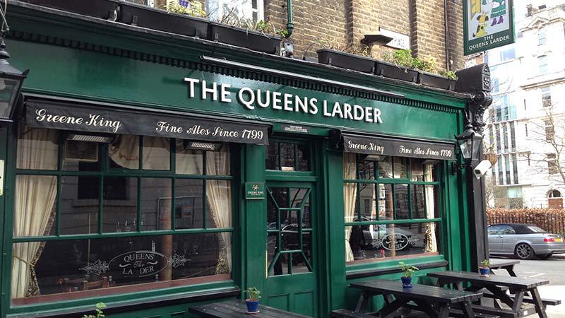 The Queens Larder Londen
